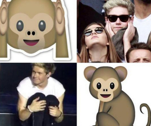 niall, monkey, and one direction image