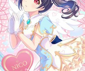 anime, girl, and nico yazawa image