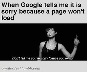 google, rihanna, and funny image