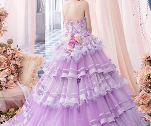gowns, lovely, and princess image