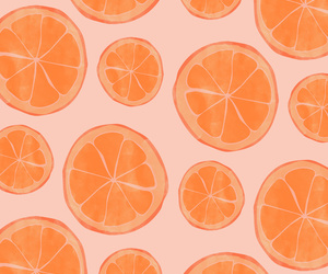 fruit, oranges, and patterns image