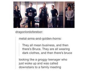 Avengers, fandom, and funny image