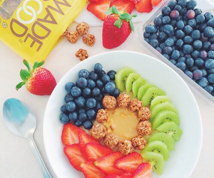 food, berries, and delicious image