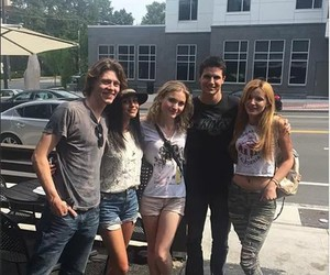 robbie amell, bianca a. santos, and the duff image