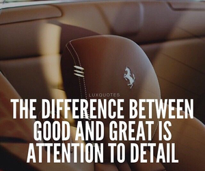 attention, detail, and difference image