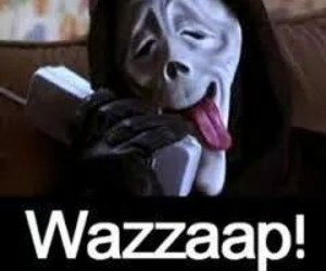 funny, wazzaap, and scream image