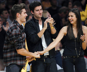 Nina Dobrev and zac efron image