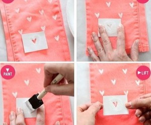 diy, pink, and tutorial image