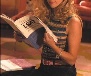 elle woods, legally blonde, and movie image