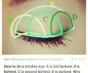diy, eye shadow, and makeup image