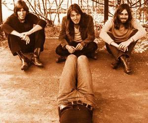 Pink Floyd, david gilmour, and nick mason image