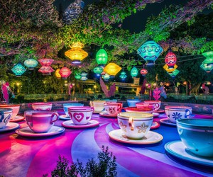 cups, magic, and a lot colors image