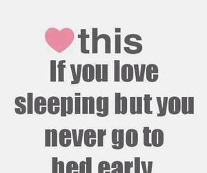 sleep, heart, and bed image