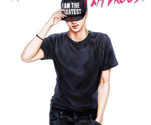 kai, exo, and fanart image