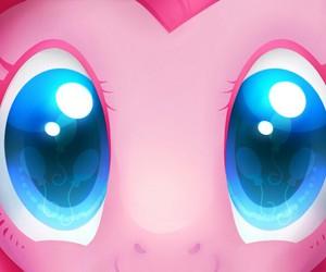 MLP, pinkie pie, and eyes image