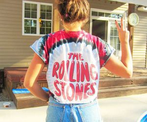 girl, rolling stones, and the rolling stones image