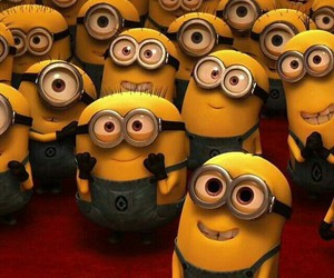 minions, cute, and despicable me image
