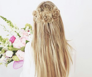 girls, hair, and tumblr image