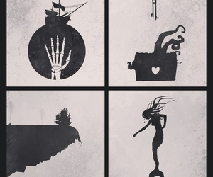 minimalist, pirates of the caribbean, and piratas do caribe image