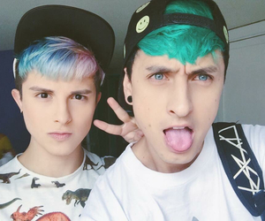 alien, boys, and hair color image