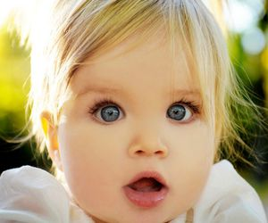 cute, baby, and blue eyes image