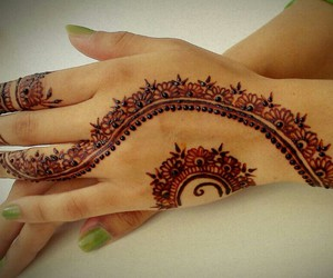 design, henna, and love image