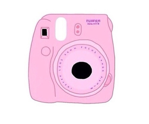 camera, overlay, and pink image