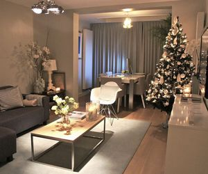 chic, christmas, and home ideas image