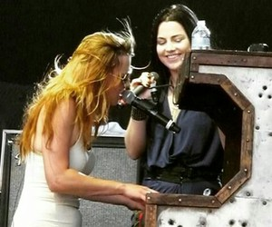 amy lee, band, and evanescence image