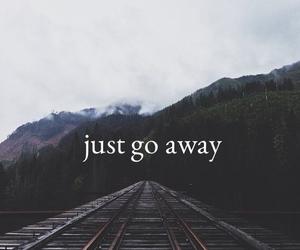 grunge, sad, and just go away image