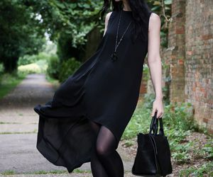 black, classic, and dress image