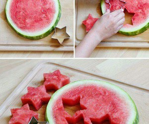 melon, melone, and stars image