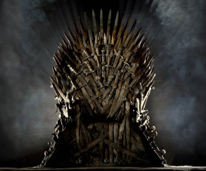 game of thrones, got, and iron throne image