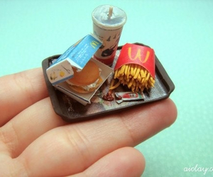 food, miniature, and tiny image