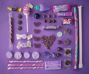 candy, purple, and sweet image