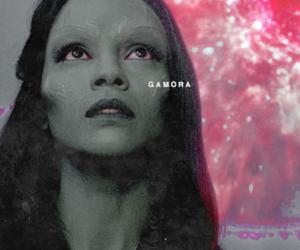 Marvel, zoe saldana, and guardians of the galaxy image