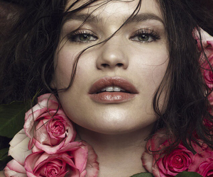 beautiful, flowers, and plus size image