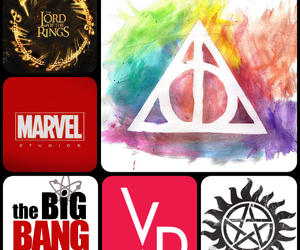 harry potter, lord of the rings, and Marvel image