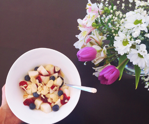 blueberries, deco, and diet image