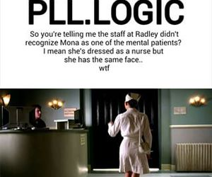 funny, mona, and pll image