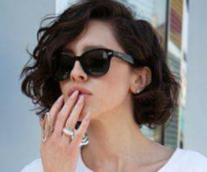 beauty, glasses, and shorthair image