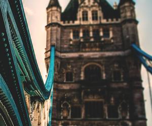 london, bridge, and photography image