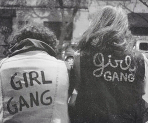 girl, girl gang, and friends image