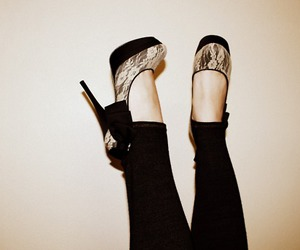 shoes, heels, and pretty image
