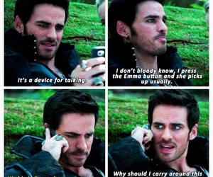 once upon a time, hook, and elsa image