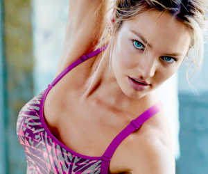 candice swanepoel, angel, and fitness image