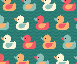 background, duck, and wallpaper image