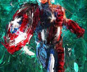 Avengers, Marvel, and capitaine america image