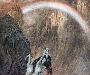 art, arthur rackham, and illustration image