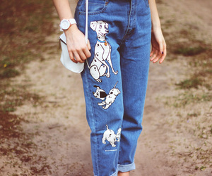 disney, fashion, and jeans image